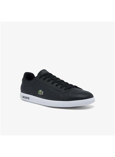 Lacoste Lacoste Graduate Bl21 1 Sma Erkek Siyah Sneaker Siyah